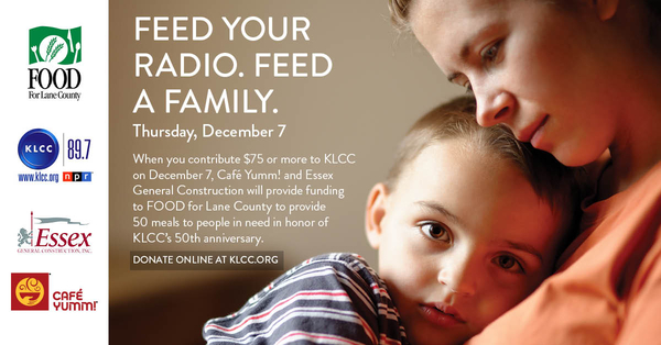 Feed your radio. Feed a family image