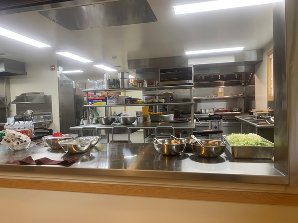 Image Saint Alice's Renovated Kitchen Ready to Serve